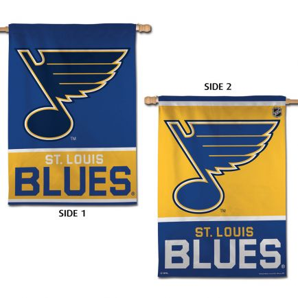 "St. Louis Blues Vertical Flag 2 Sided 28"" x 40"""