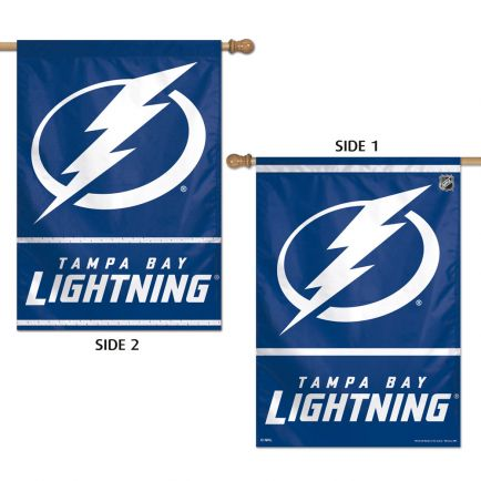 "Tampa Bay Lightning Vertical Flag 2 Sided 28"" x 40"""