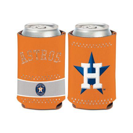Houston Astros Bling Can Cooler 12 oz.