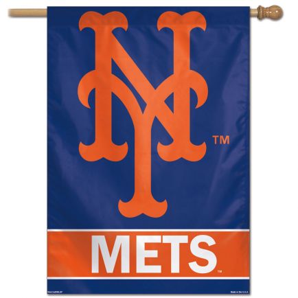 "New York Mets Vertical Flag 28"" x 40"""