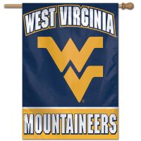 "West Virginia Mountaineers Vertical Flag 28"" x 40"""
