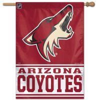 "Arizona Coyotes Vertical Flag 28"" x 40"""