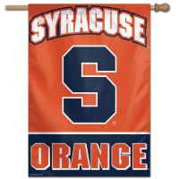 "Syracuse Orange Vertical Flag 28"" x 40"""
