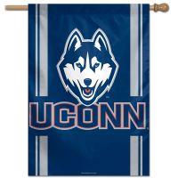 "UConn Huskies Vertical Flag 28"" x 40"""
