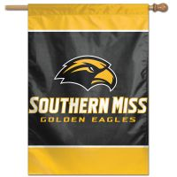 "Southern Miss Golden Eagles Vertical Flag 28"" x 40"""
