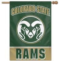 "Colorado State Rams Vertical Flag 28"" x 40"""