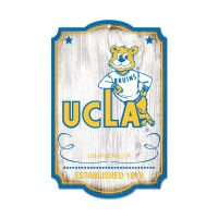 """UCLA Bruins / Vintage Collegiate Wood Sign 11"""" x 17"""" 1/4"""" thick"""