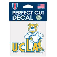 """UCLA Bruins / Vintage Collegiate Perfect Cut Color Decal 4"""" x 4"""""""