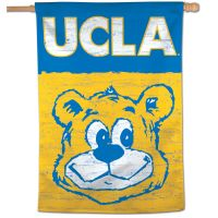 "UCLA / Vintage Collegiate Vertical Flag 28"" x 40"""