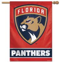 "Florida Panthers Vertical Flag 28"" x 40"""