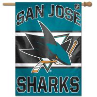 "San Jose Sharks Vertical Flag 28"" x 40"""