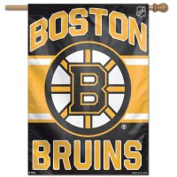 "Boston Bruins Vertical Flag 28"" x 40"""