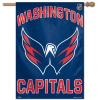 "Washington Capitals Vertical Flag 28"" x 40"""