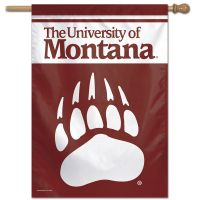 "Montana Grizzlies Vertical Flag 28"" x 40"""