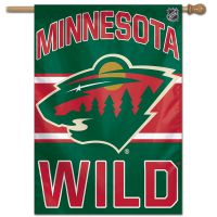 "Minnesota Wild Vertical Flag 28"" x 40"""