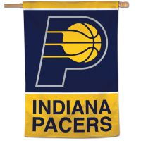 """Indiana Pacers Vertical Flag 28"""" x 40"""""""