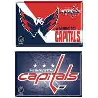 "Washington Capitals Rectangle Magnet, 2pack 2"" x 3"""