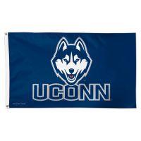 UConn Huskies Husky Logo Flag - Deluxe 3' X 5'