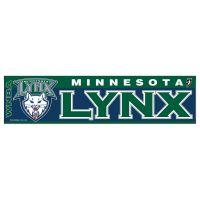 """Minnesota Lynx Bumper Strip 3"""" x 12"""""""