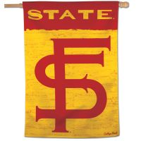 "Florida State Seminoles /College Vault Vertical Flag 28"" x 40"""