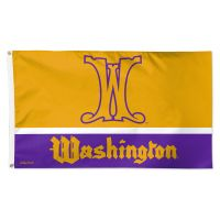 Washington Huskies / Vintage Collegiate Flag - Deluxe 3' X 5'