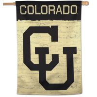 "Colorado Buffaloes / Vintage Collegiate Vertical Flag 28"" x 40"""