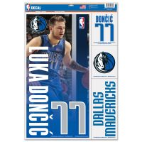 "Dallas Mavericks Multi Use Decal 11"" x 17"" Luka Doncic"