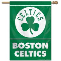 "Boston Celtics Vertical Flag 28"" x 40"""
