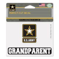 "U.S. Army ""Grandparent"" Perfect Cut Color Decal 4.5"" x 5.75"""