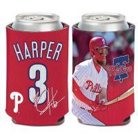 Philadelphia Phillies image Can Cooler 12 oz. Bryce Harper