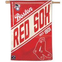 """Boston Red Sox / Cooperstown cooperstown Vertical Flag 28"""" x 40"""""""