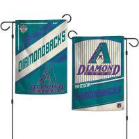 "Arizona Diamondbacks / Cooperstown Garden Flags 2 sided 12.5"" x 18"""