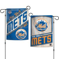 "New York Mets / Cooperstown Garden Flags 2 sided 12.5"" x 18"""