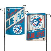 """Toronto Blue Jays / Cooperstown Garden Flags 2 sided 12.5"""" x 18"""""""