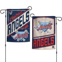 """Angels / Cooperstown Garden Flags 2 sided 12.5"""" x 18"""""""