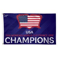 Women's World Cup Champion Flag - Deluxe 3' X 5'