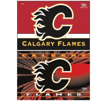 "Calgary Flames 3rd Jersey Logo Rectangle Magnet, 2pack 2"" x 3"""