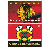 """Chicago Blackhawks Rectangle Magnet, 2pack 2"""" x 3"""""""