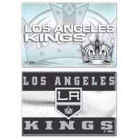 "Los Angeles Kings Rectangle Magnet, 2pack 2"" x 3"""