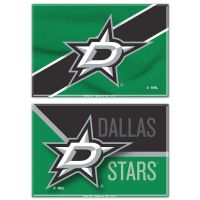 "Dallas Stars Rectangle Magnet, 2pack 2"" x 3"""