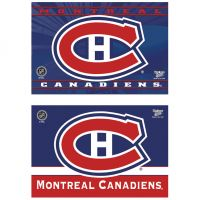 "Montreal Canadiens Rectangle Magnet, 2pack 2"" x 3"""