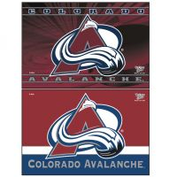"Colorado Avalanche Rectangle Magnet, 2pack 2"" x 3"""