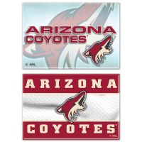 "Arizona Coyotes Rectangle Magnet, 2pack 2"" x 3"""