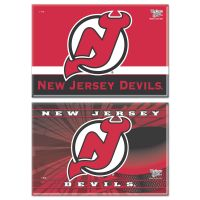 "New Jersey Devils Rectangle Magnet, 2pack 2"" x 3"""