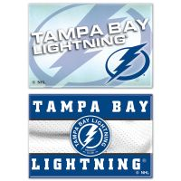 "Tampa Bay Lightning Rectangle Magnet, 2pack 2"" x 3"""