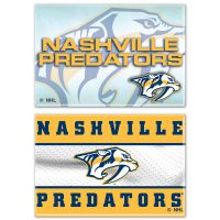 "Nashville Predators Rectangle Magnet, 2pack 2"" x 3"""