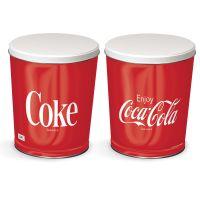 Coca-Cola Gift Tin tapered 3 gallon