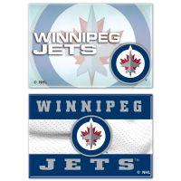 "Winnipeg Jets Rectangle Magnet, 2pack 2"" x 3"""