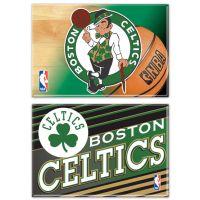 "Boston Celtics Rectangle Magnet, 2pack 2"" x 3"""