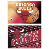 """Chicago Bulls Rectangle Magnet, 2pack 2"""" x 3"""""""